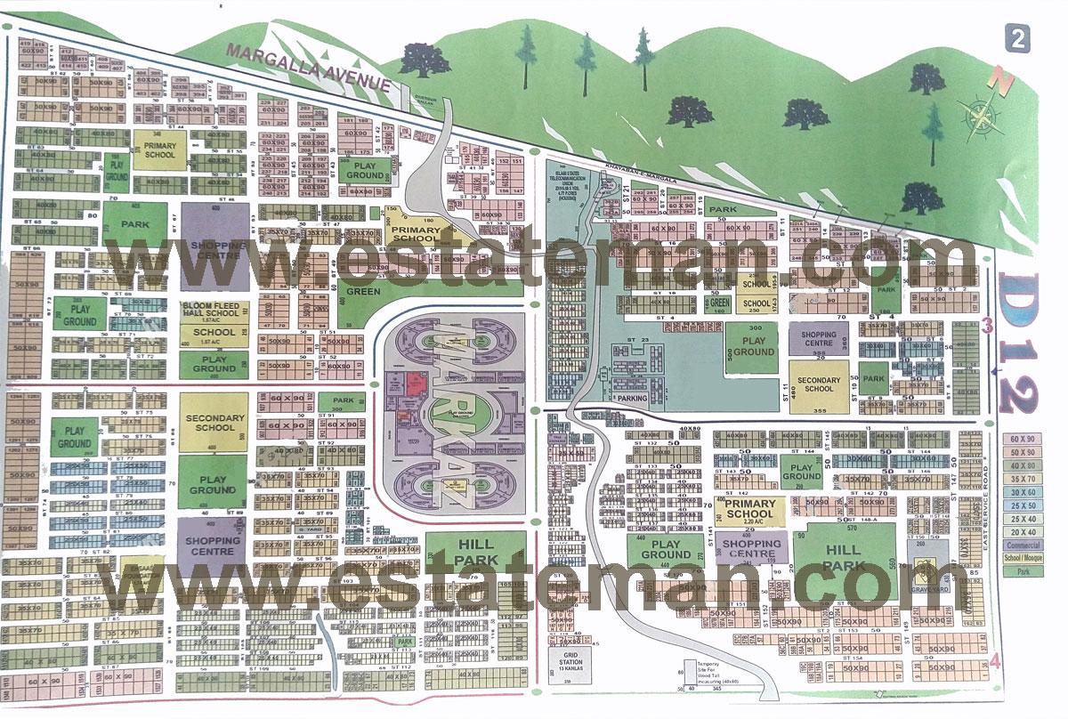 Sector D 12 Islamabad